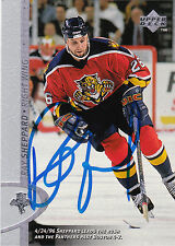 RAY SHEPPARD PANTHERS AUTOGRAPH AUTO 96-97 UPPER DECK #263 *26077