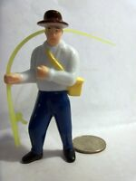 Fisherman Cake Topper Fishing fish River Boat