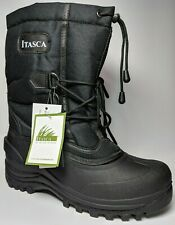 Itasca Mountaineer 809500 Boots Insulated 200g Thermolite Winter Black Mens 11