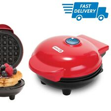 New listing Small Waffle Maker Pan Non Stick Little Mini Electric Home Waffles Cooker Baker