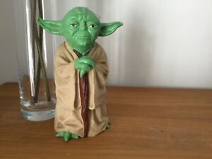 Kenner Yoda Star Wars Hand Puppet Empire Strikes Back 1981 Vintage With Hair