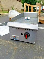New 12 Griddle Flat Grill Countertop Commercial Natural Gas Nat 30k Btu