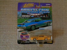 Johnny Lightning Muscle Cars USA 1971 Pontiac GTO Judge Yellow No 45 1:64