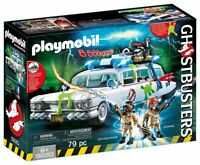 Playmobil Ghostbusters 9220 Set Ecto-1 Car, Slime Zeddemore, Janine New Open Box
