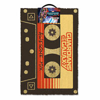 GUARDIANS OF THE GALAXY AWESOME MIX TAPE DOOR MAT 60 X 40 CM COIR PVC BACK