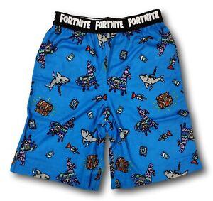 Fortnite Loot Llama Sleep Shorts Pajamas for Boys Size MEDIUM 8