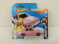 Coche Mattel Hot Wheels DTX37 HW Screen Time - The Simpsons