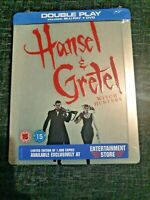 Hansel And Gretel: Witch Hunters Blu-ray + DVD UK Exclusive Steelbook New&Sealed