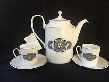 FORNASETTI HELIADA COFFEE SET ROSENTHAL GERMANY IN TOP CONDITION