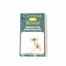 CRYSTAL RIVER PREMIUM FLIES PRIME MOUCHES CR100-12  FISHING FLY SIZE 12 NEW