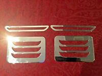 VW  Split Screen Air Vent Dash Polished Stainless Trims Splitscreen