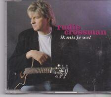 Rudie Crossman-Ik Mis Je Wel cd maxi single