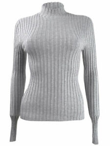 Hooked Up By IOT Juniors' Rib-Knit Mock-Turtleneck Sweater (S, Grey Heather)
