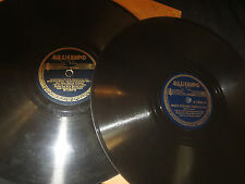 78RPM 2 Blue Barron on Bluebird, Angels Faces, Shadows Moon, Lonely trail V+E-
