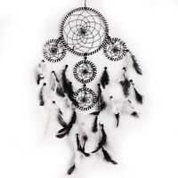 Handmade Dream Catcher With feather Wall Hanging Decoration Decor Bead Ornament*