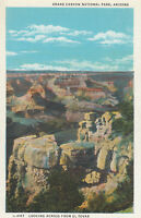 AS IS Postcard A599 Fred Harvey Grand Canyon National Park Arizona El Tovar