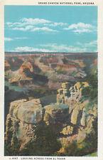 AS IS Postcard A599 Fred Harvey Grand Canyon National Park Arizona El Tovar