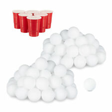 96er Set Beer Pong Bälle, Tischtennisbälle, Lottokugeln, Ping Pong Bälle Plastik