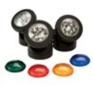 Smartpond Pond And Landscape Lights With 4 LED Color Lens Options #52291