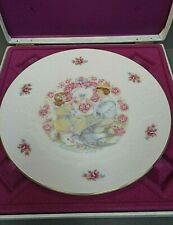 Royal Doulton Valentine's Day Collectors Plate 1976 Box