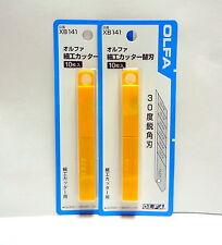 OLFA Genuine Replacement Blade for 141B 2 tubes / 20 blades / XB141 / SAB-10B