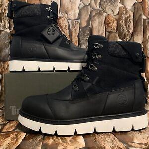 Timberland Men's Raywood EK+ 6 Inch Boot  Black Full Grain Style A2EHH Sz:9.5M