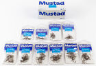 10 Packages Mustad 80050BR Curved Nymph Fly Tying Hooks