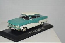 Legendary Cars  FORD TAUNUS 17 M     1:43 Die Cast  [MZ]