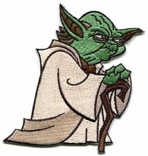 STAR WARS yoda standing EMBROIDERED IRON-ON PATCH **Free Shipping** p-sw-30
