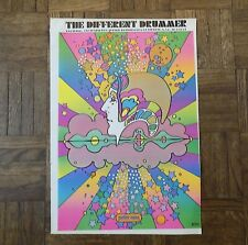 Vintage 20th C. Lithograph-Peter Max Psychedelic Pop Art Poster-c.1970