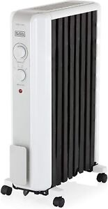 Black and Decker BXRA43002GB Oil Filled Radiator with Advanced Heat Circulation