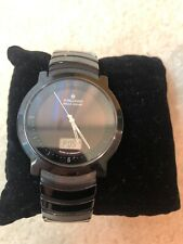 Junghans Force Mega Solar Watch 16/1504.44 - Works And Holds Charge