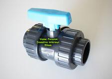 Vanne pour piscine PVC Pression ⌀ 50mm intérieur