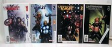 Lot 4 Signed Comic Books ULTIMATE WAR # 1-4 w/ COAs