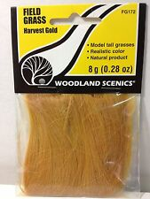 Woodland Scenics 172 Field Grass Harvest Gold - NIB
