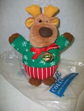 Avon Prancing Reindeer Plush Battery Operated Toy Figurine