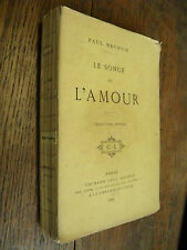 Le songe de l'amour / Paul Meurice