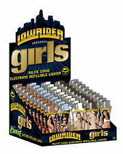 LOWRIDER presents GIRLS - Nulite Curve Electronic Refillable Lighter
