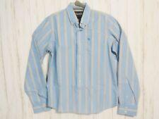Abercrombie & Fitch Mens Button Down XL Long Sleeve Shirt Yellow/Blue/White EUC