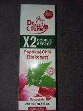 Dr. C. Tuna Paprika & Chili Balsam Massage Gel - New, 8.5 Fl. Oz.