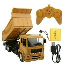 1:24 Remote Control Engineering Vehicle Rechargeable Dump Truck w/Light&Music