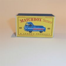 Matchbox Lesney 60 a Morris Pickup empty Repro D style Box