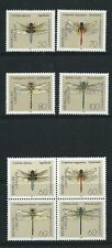 Germany West 1991 Dragonflies SG2397-2404 mint set stamps