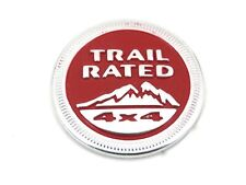 Genuine New JEEP TRAIL RATED 4X4 BADGE Emblem Cherokee & Grand Cherokee Wrangler