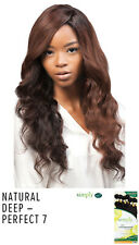 Outre Simply Perfect 7 Natural Deep Non processed Human Hair Brazilian Bundle
