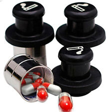Portable secret stash cars cigarette lighter shape medecine box hidden pill/CaG$