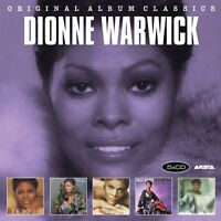 DIONNE WARWICK - ORIGINAL ALBUM CLASSICS  5 CD NEW!