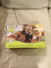 FOOD NETWORK COFFEE AND SPICE GRINDER (GENTLY USED)