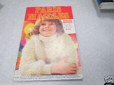 CATALOGUE PARIS MAILLES ENFANTS N° 24 SPECIAL ENFANTS 2 à 13 ans tricot *