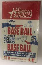 2006 Bowman Heritage Factory Sealed Baseball Hobby Box